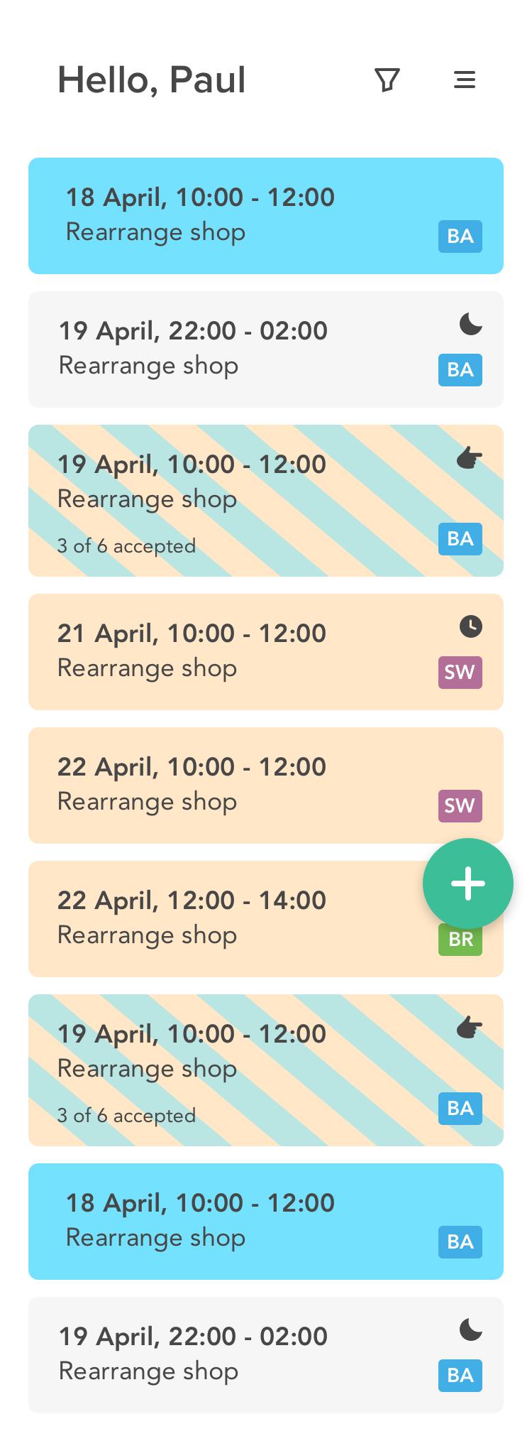 clevergig app voor planners